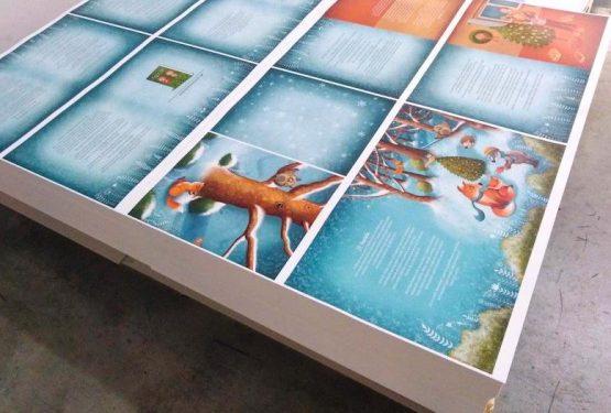Kniha Malvínkine Vianoce v tlači Neografia