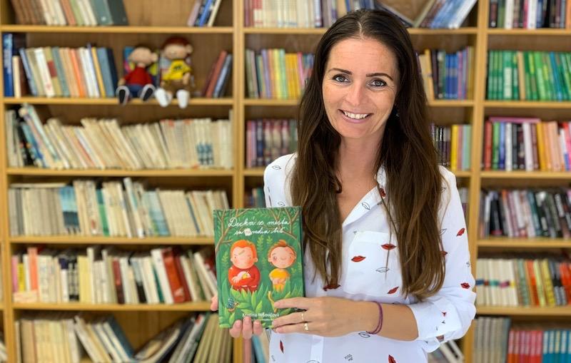 Kristína Mišovičová autorka kníh Decká z mesa sa (ne)vedia biť a Malvínkine Vianoce
